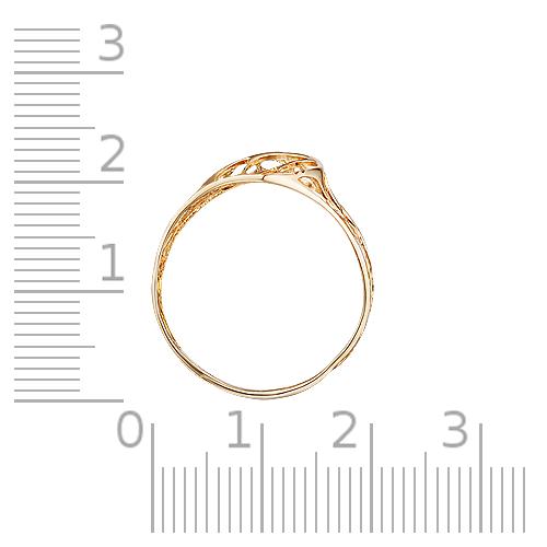 Кольцо с алмазной гранью