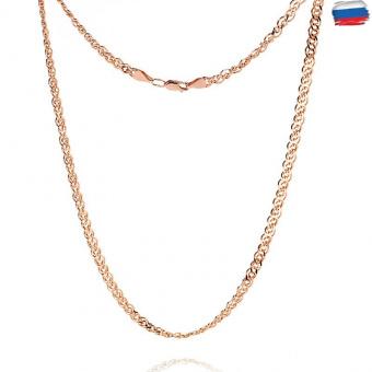 Цепочка, плетение Нонна с алмазной гранью, 7 мм