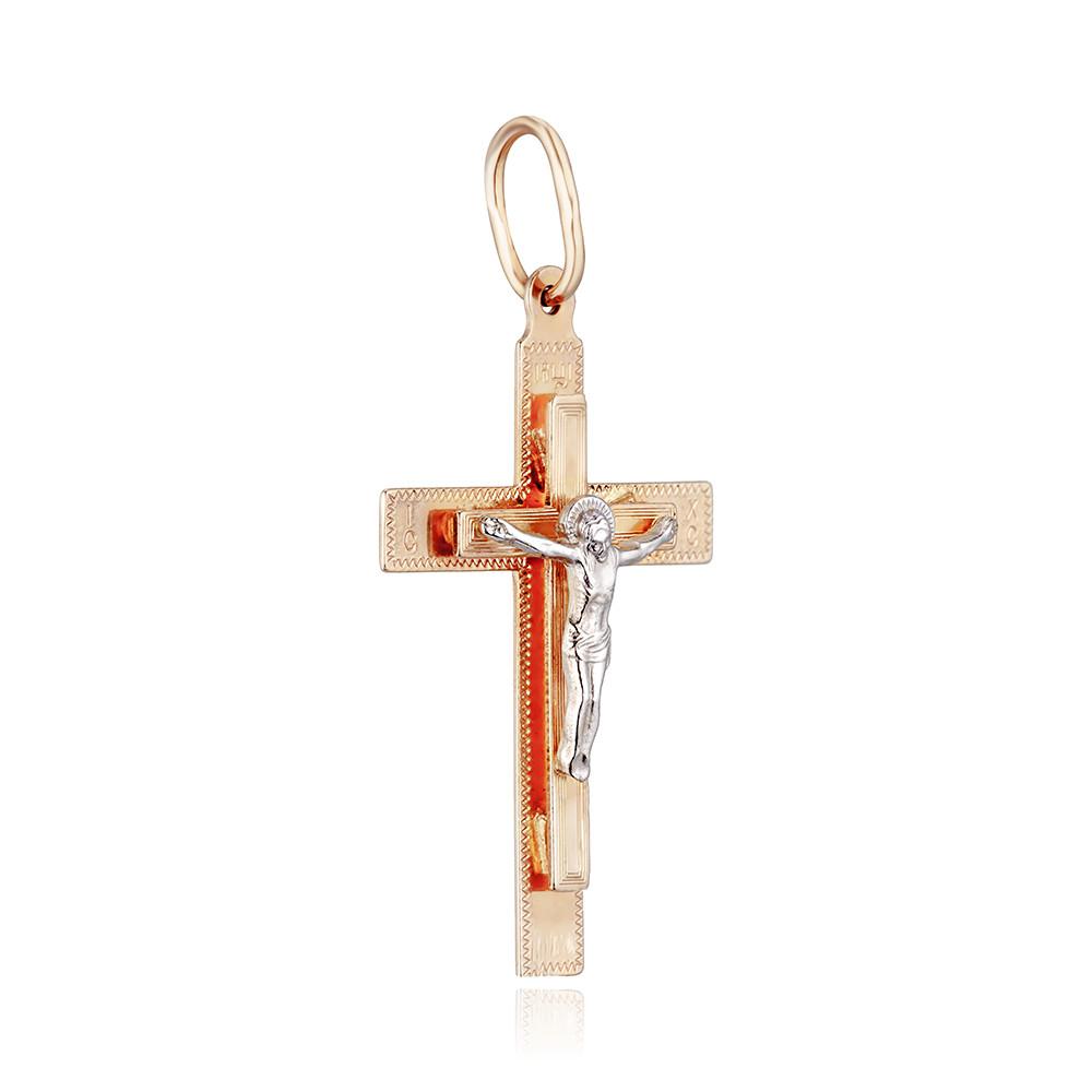 Крест трехслойный с алмазной гранью