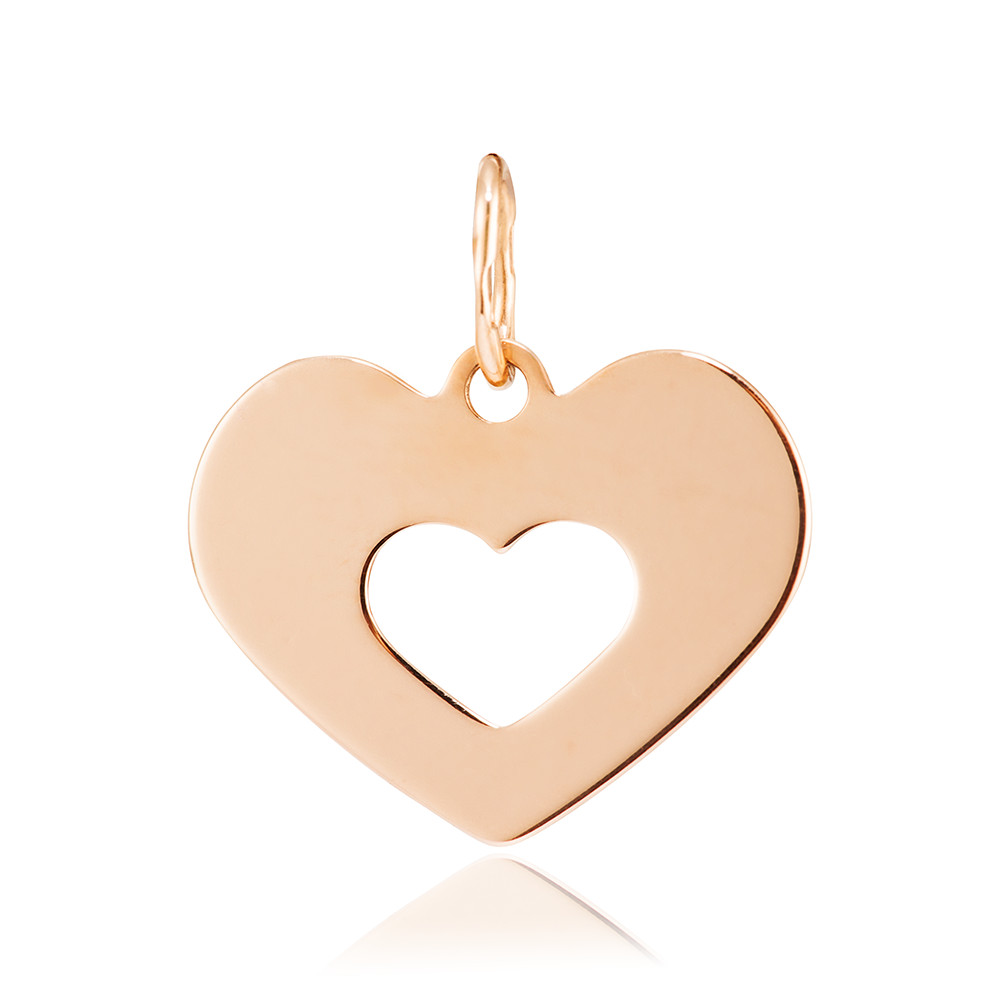 Подвес Сердце из золота