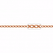 Цепь, плетение Ромб тройной с алмазной гранью, 5 мм