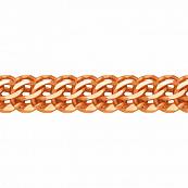 Браслет, плетение Каприз с алмазной гранью 8-ми сторон, 5 мм