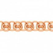 Браслет, плетение Флоренция, 7 мм