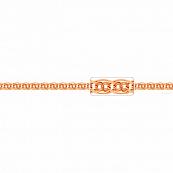 Цепь, плетение Нонна-Биссмарк с алмазной гранью, 6,5 мм